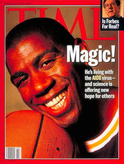 The Visual Politics of HIV and AIDS – 1980 to 2012 – The ...Magic Johnson Aids