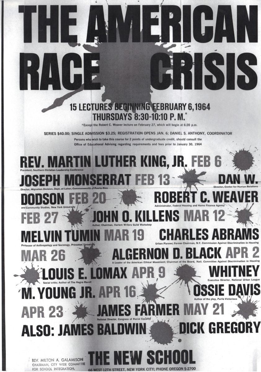 Race Crisis Series 1964 Poster
