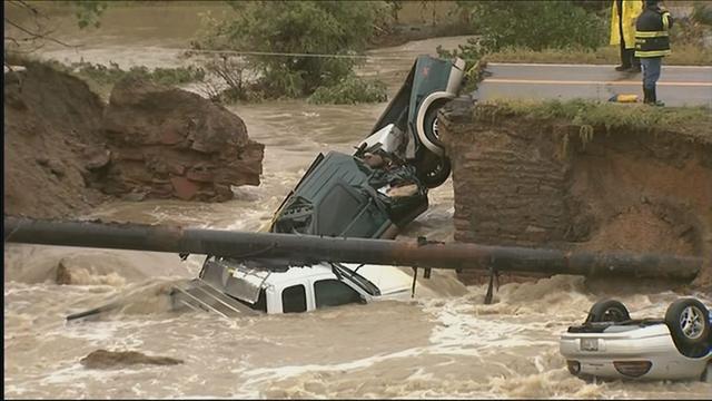 Biblical floods in Colorado (Sept 12, 2013)
