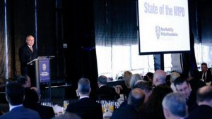 NY Police Commissioner William Bratton at the 2015 State of the NYPD (Source: NYPD)
