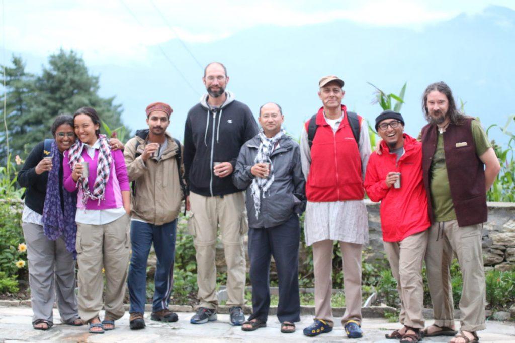 Narayan Ashram Group Photo