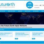 Future Earth homepage