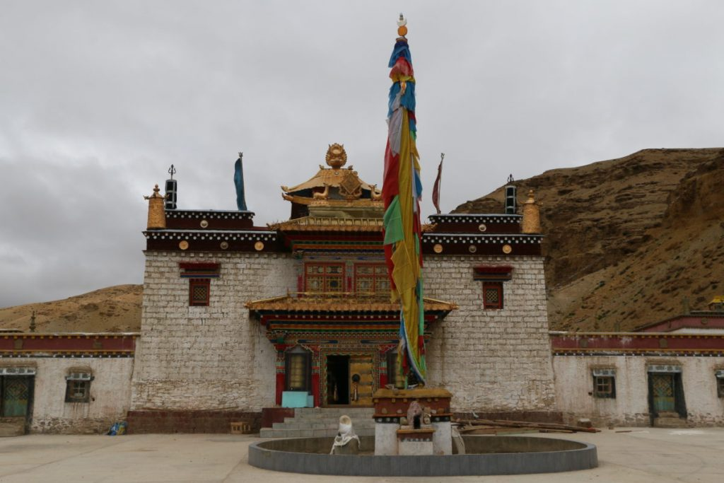 Gurugyam Bonpo monastery in Tibet